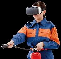 VR消火訓練シミュレータ